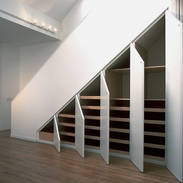 1000 images about stairs on pinterest for Understairs storage